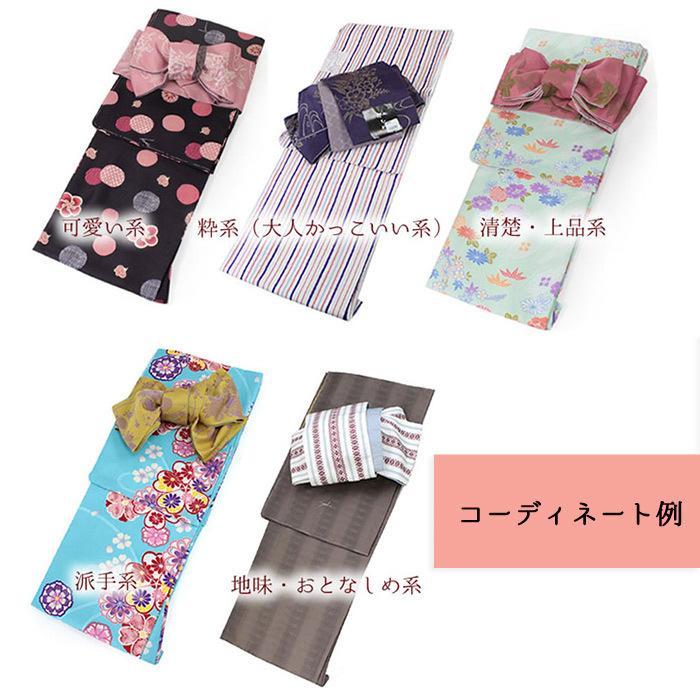 洗えるはんてん 着物 半幅帯 足袋ソックス 4点 コーディネートセット M L 選べる8柄 リバーシブル レディース ルームウェア 和装 和服 送料無料 2021 新春福袋|kimono-kyoukomati|16