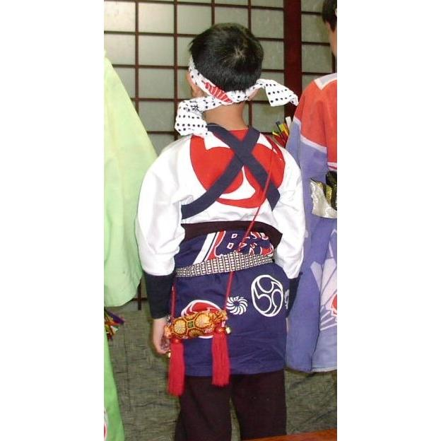 俵型 祭りお守り 手作り お札入り 肩掛け たすき掛け 金襴|kimono-morizen|04