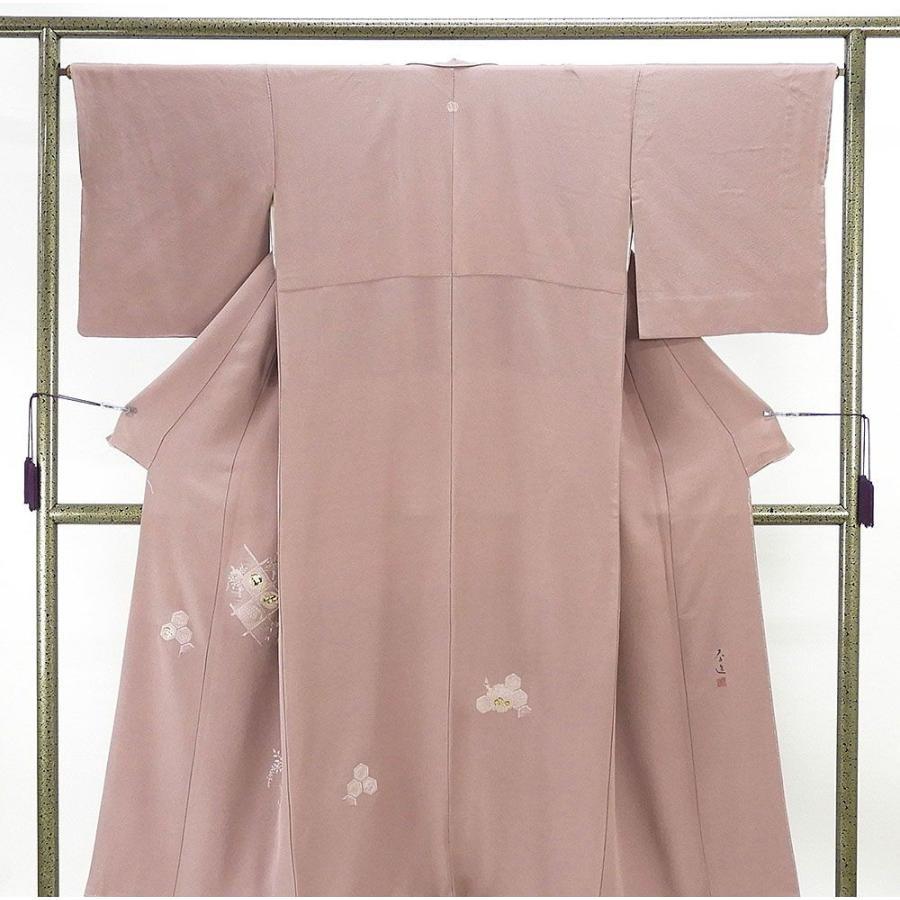 魅力の 色留袖 正絹 宝飾螺鈿作家 甲斐泰造作 色留袖 一つ紋 リサイクル 着物, 薩摩川内市 4206bd20