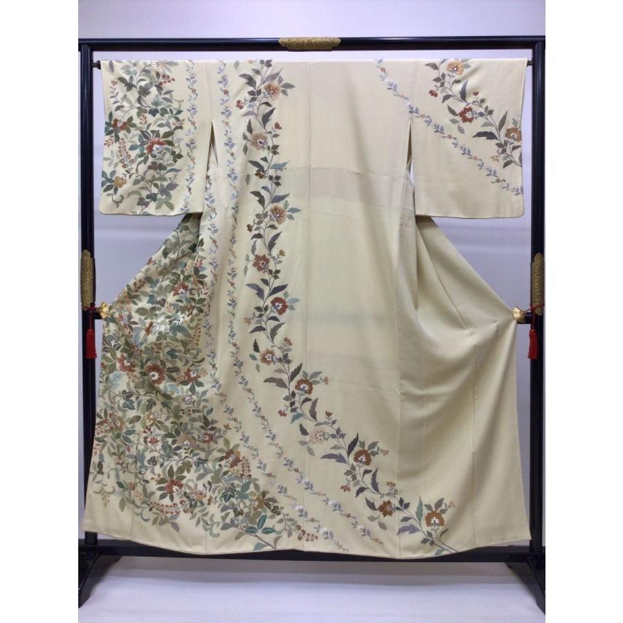 刺繍訪問着 |kimono-waraji