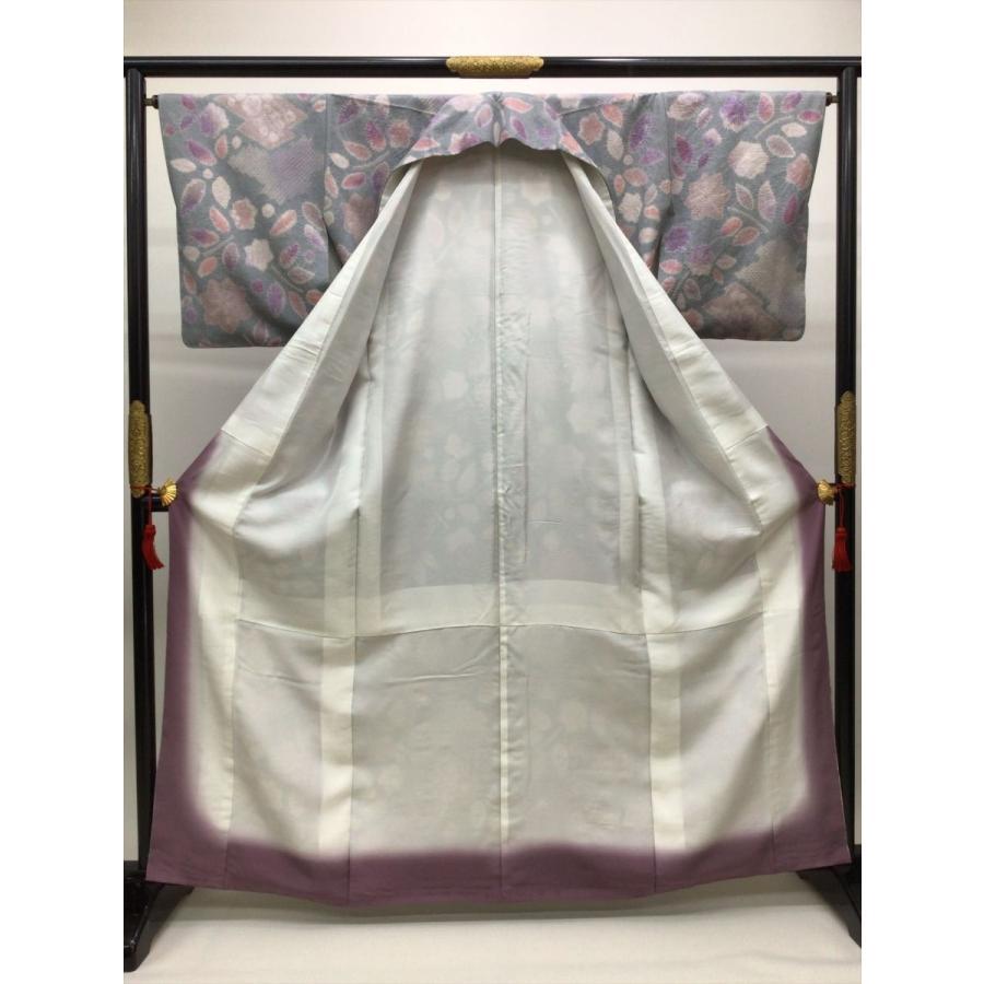 絞り染め紬|kimono-waraji|02