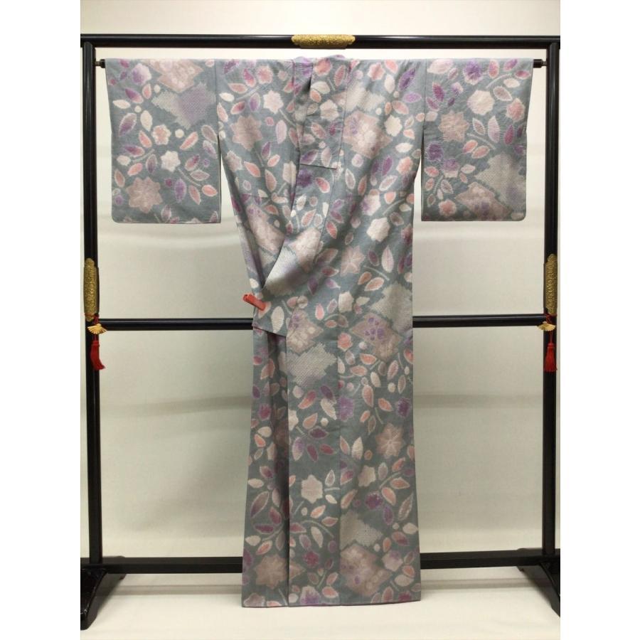 絞り染め紬|kimono-waraji|03
