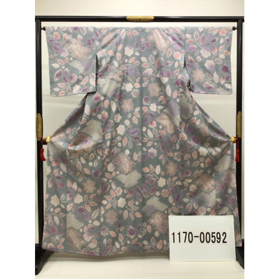 絞り染め紬|kimono-waraji|09