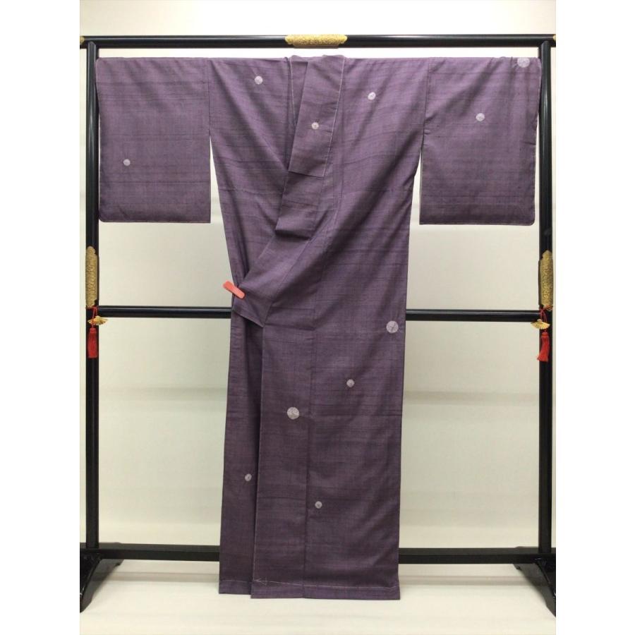 絞り染め紬 (身巾広め)|kimono-waraji|03