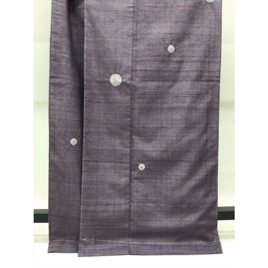 絞り染め紬 (身巾広め)|kimono-waraji|04