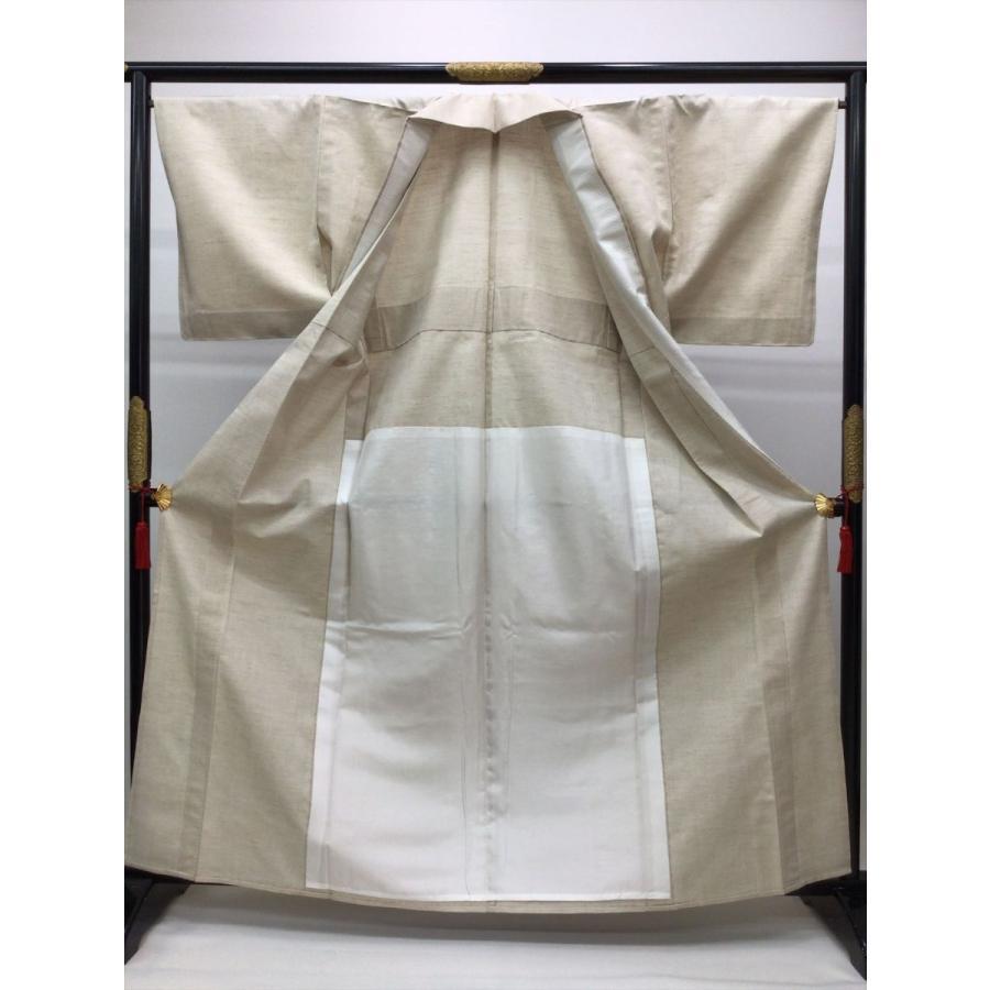 単衣山繭紬 kimono-waraji 02