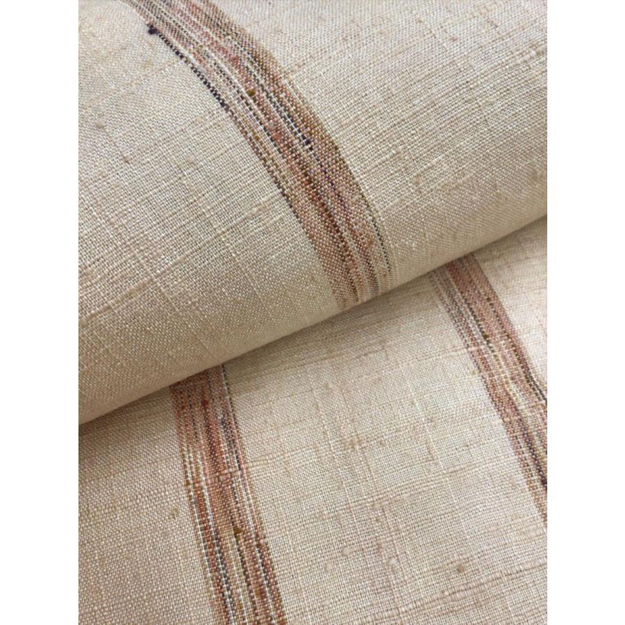 手織り紬 反物 kimono-waraji 05