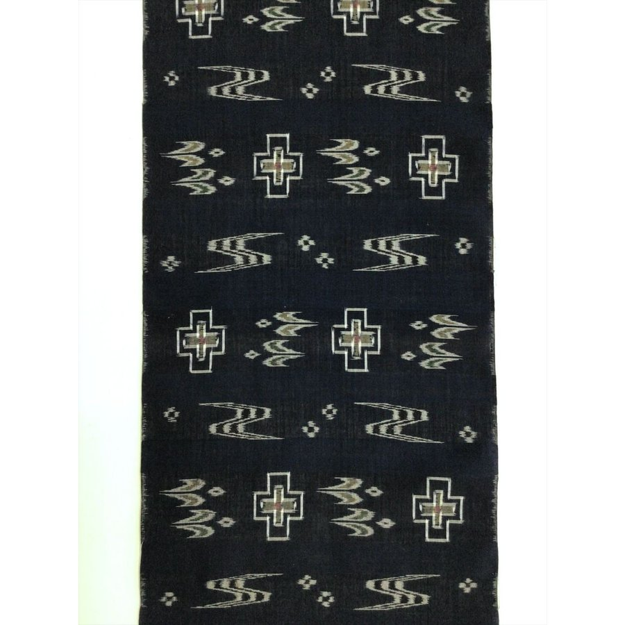 綿琉球絣反物|kimono-waraji|02