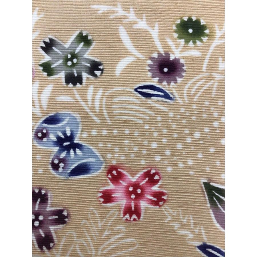 ふじの紅型工房 琉球紅型染袋帯 kimono-waraji 03