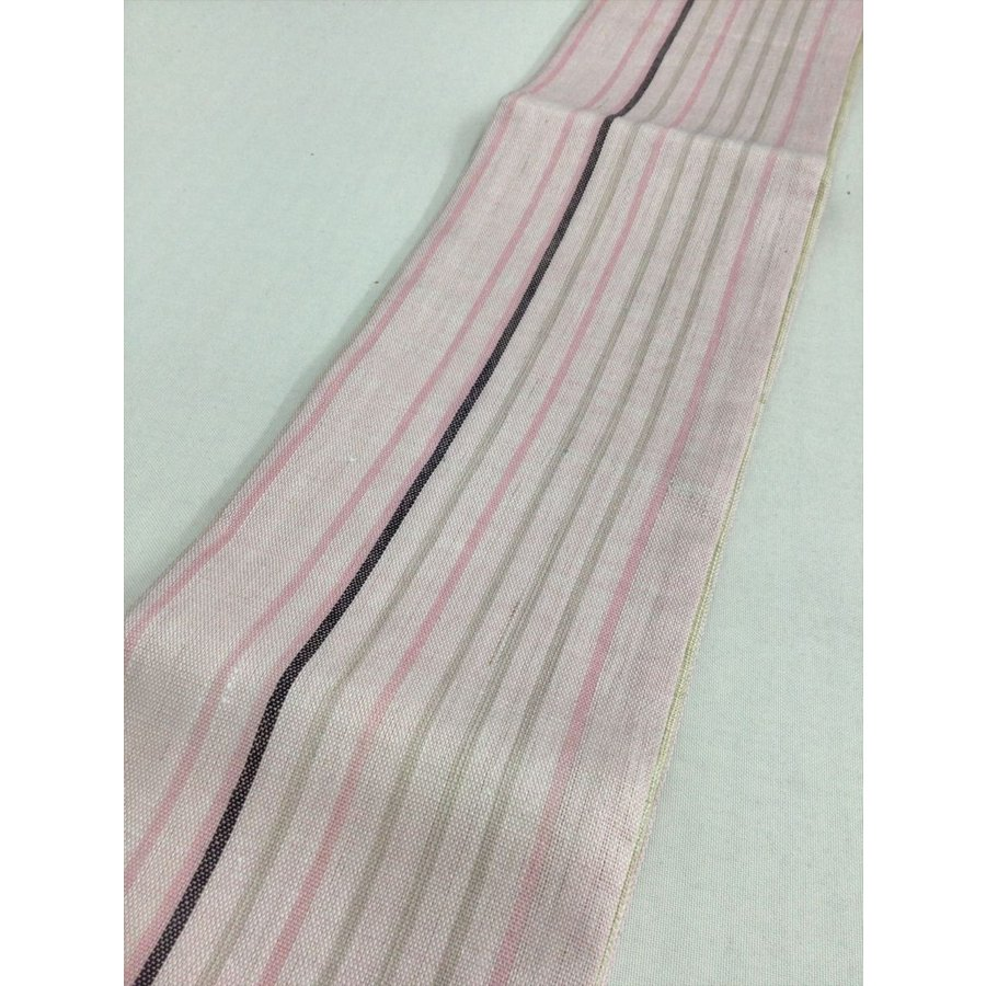 麻半巾帯 kimono-waraji 02