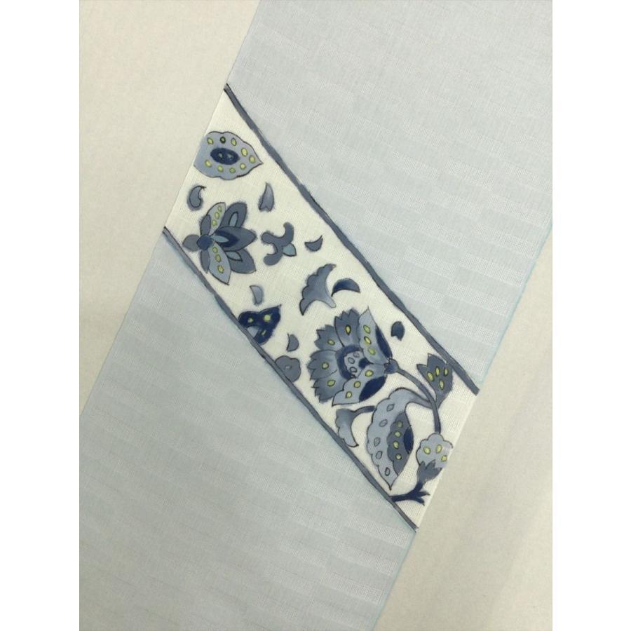 竺仙 麻染名古屋帯反物|kimono-waraji|04