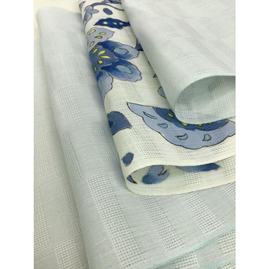 竺仙 麻染名古屋帯反物|kimono-waraji|05