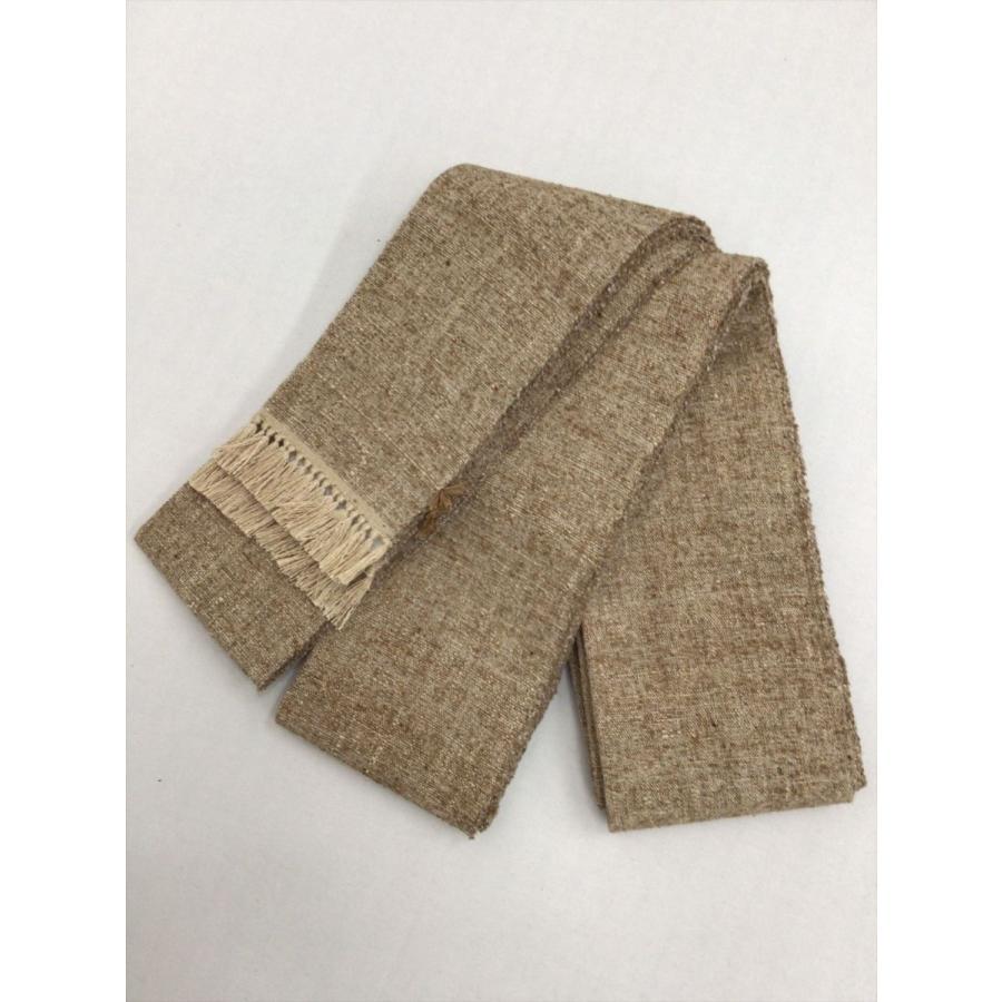 ぜんまい織角帯|kimono-waraji