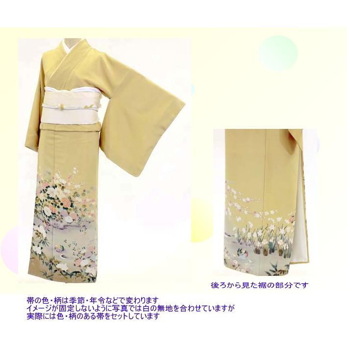 色留袖 レンタル 515番 20点フルセットレンタル 往復送料無料|kimono-world|02