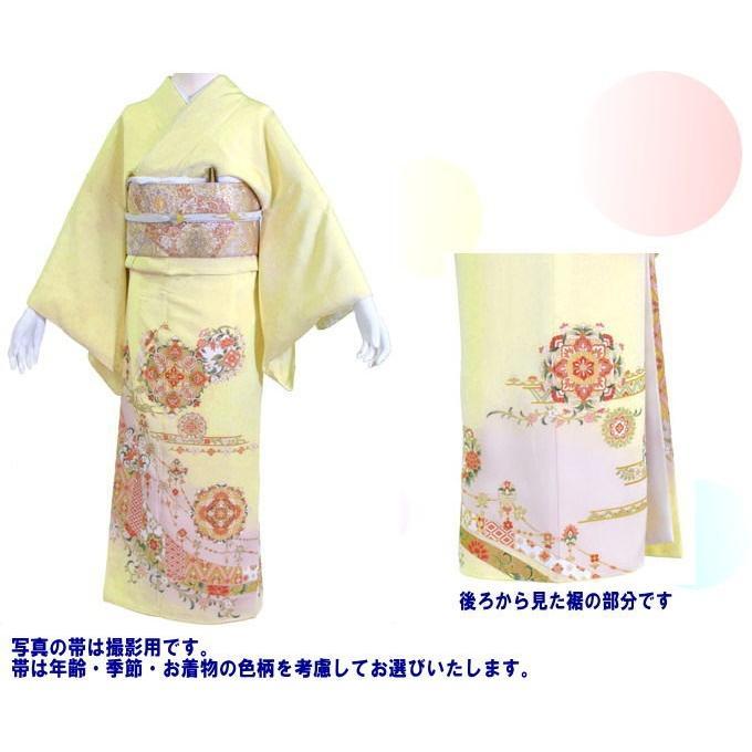 色留袖 レンタル 544番 20点フルセットレンタル 往復送料無料|kimono-world|02