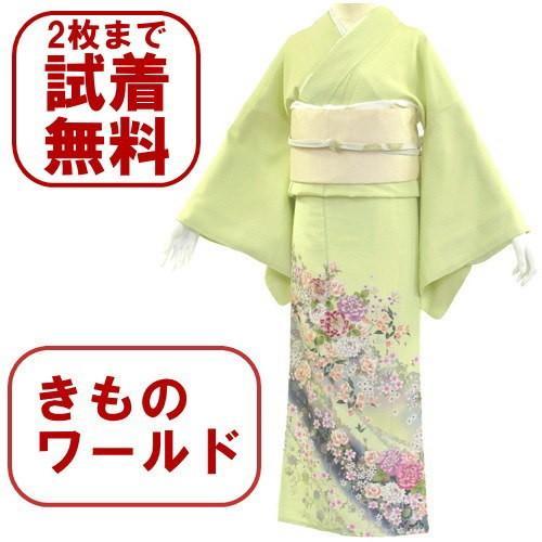 色留袖 レンタル 703番 20点フルセットレンタル 往復送料無料|kimono-world