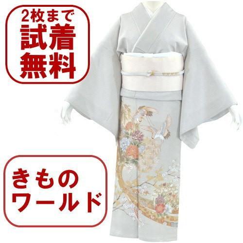 色留袖 レンタル 706番 20点フルセットレンタル 往復送料無料|kimono-world