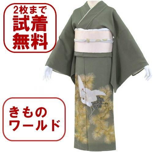 色留袖 レンタル 712番 20点フルセットレンタル 往復送料無料 kimono-world