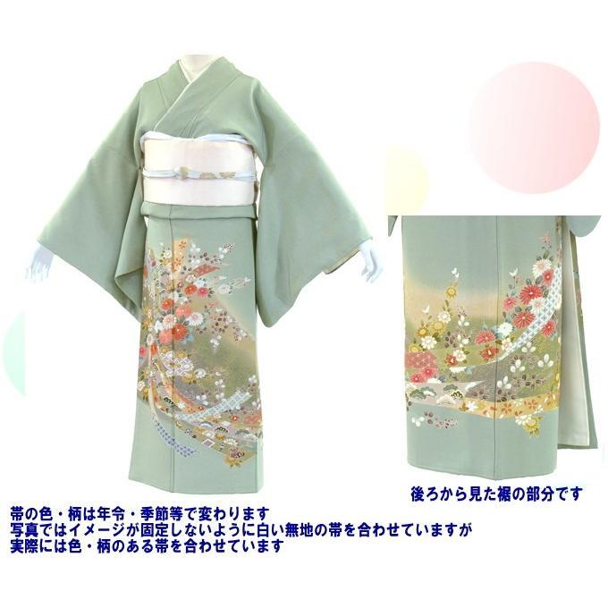 色留袖 レンタル 713番 20点フルセットレンタル 往復送料無料|kimono-world|02