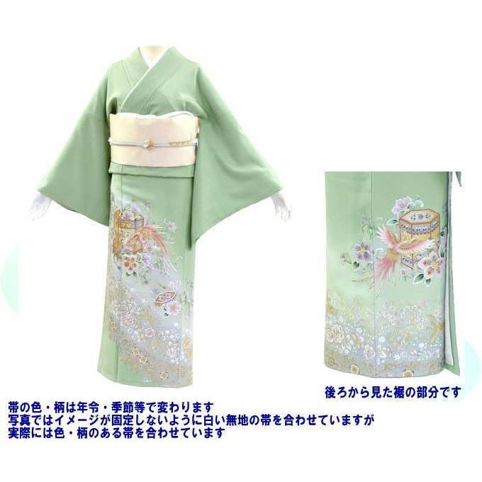 色留袖 レンタル 718番 20点フルセットレンタル 往復送料無料 kimono-world 02