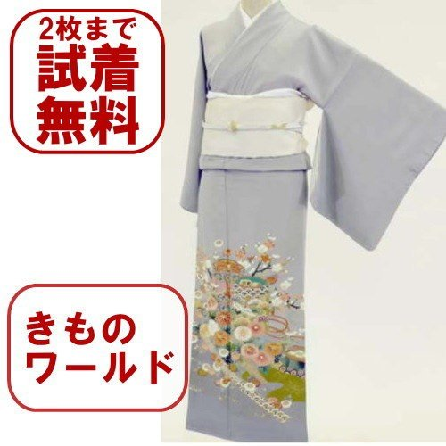 色留袖 レンタル 720番 20点フルセットレンタル 往復送料無料 kimono-world