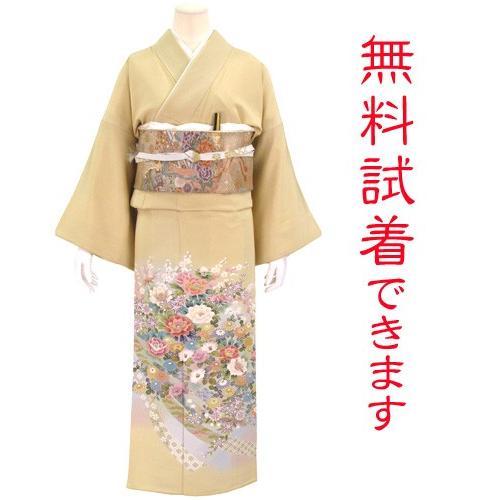 色留袖 レンタル 722番 20点フルセットレンタル 往復送料無料 kimono-world