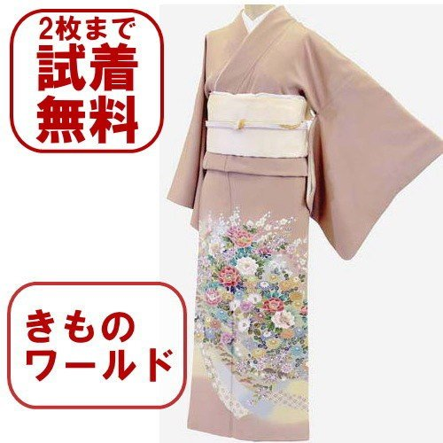 色留袖 レンタル 723番 20点フルセットレンタル 往復送料無料|kimono-world