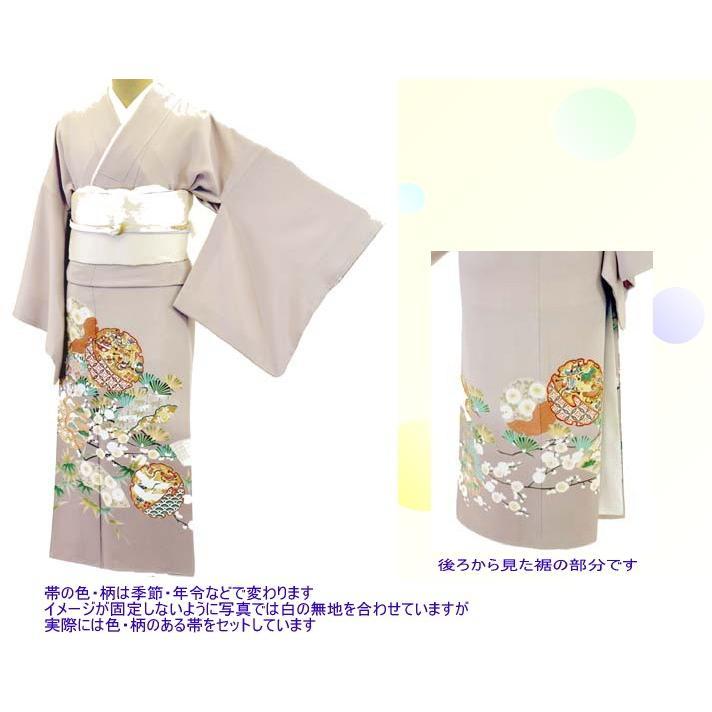 色留袖 レンタル 724番 20点フルセットレンタル 往復送料無料|kimono-world|02