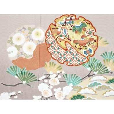 色留袖 レンタル 724番 20点フルセットレンタル 往復送料無料|kimono-world|05
