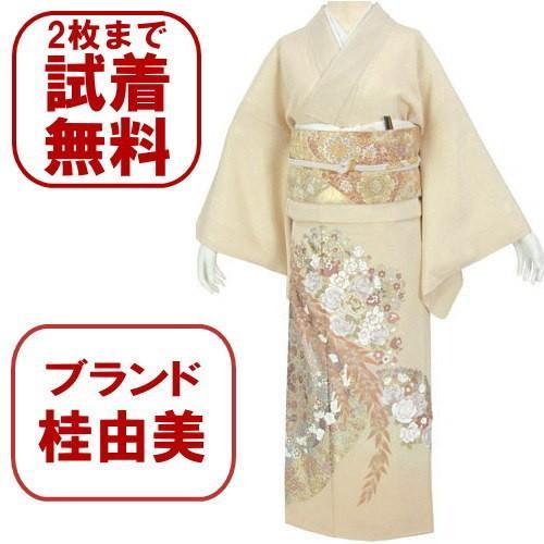 桂由美 花の中で 色留袖 レンタル 729番 20点フルセットレンタル 往復送料無料 kimono-world