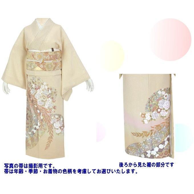 桂由美 花の中で 色留袖 レンタル 729番 20点フルセットレンタル 往復送料無料 kimono-world 02