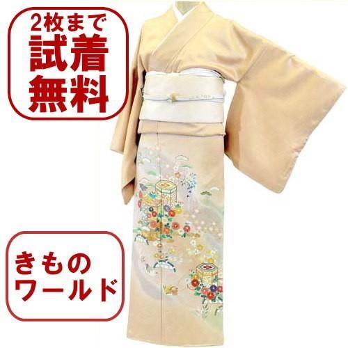 色留袖 レンタル 740番 20点フルセットレンタル 往復送料無料|kimono-world