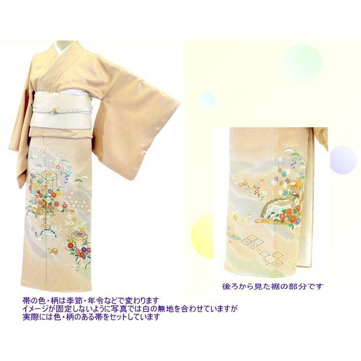 色留袖 レンタル 740番 20点フルセットレンタル 往復送料無料|kimono-world|02