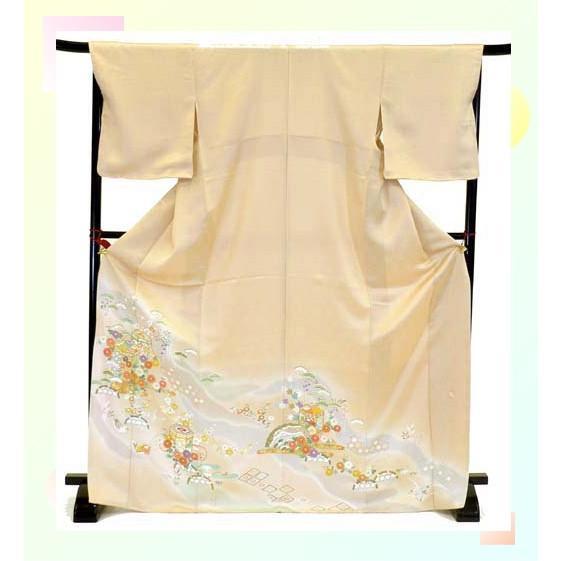 色留袖 レンタル 740番 20点フルセットレンタル 往復送料無料|kimono-world|03