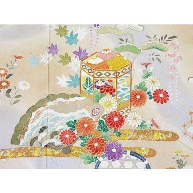 色留袖 レンタル 740番 20点フルセットレンタル 往復送料無料|kimono-world|05