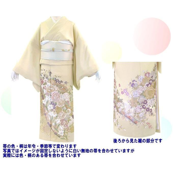 桂由美 花とチャペル 色留袖レンタル 755番 20点フルセットレンタル 往復送料無料|kimono-world|02