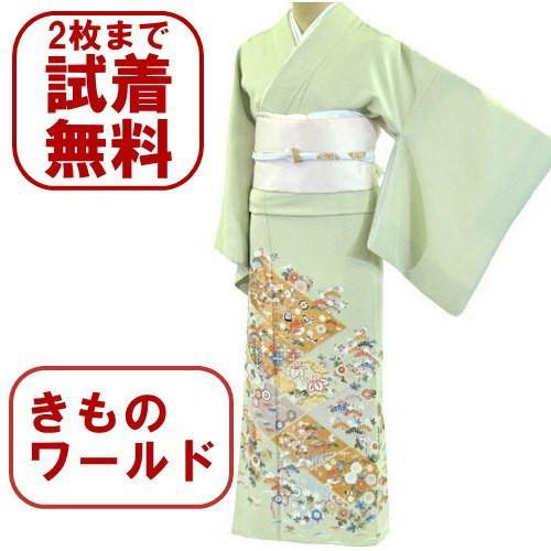 色留袖 レンタル 766番 20点フルセットレンタル 往復送料無料 kimono-world