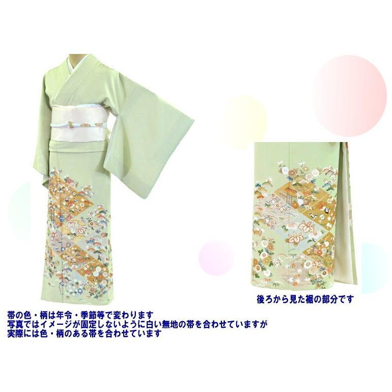 色留袖 レンタル 766番 20点フルセットレンタル 往復送料無料 kimono-world 02
