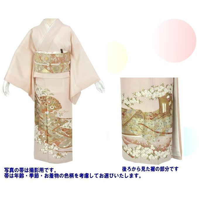 桂由美 重ねの美 色留袖 レンタル 767番 20点フルセットレンタル 往復送料無料|kimono-world|02