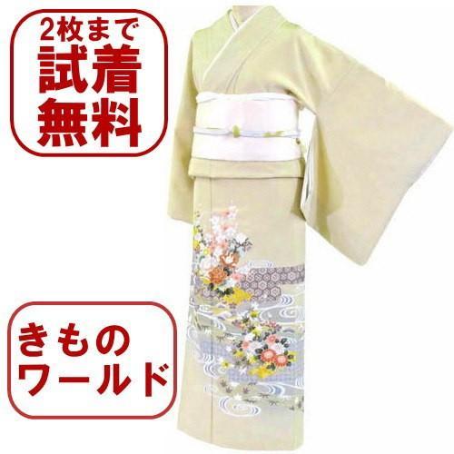 色留袖 レンタル 770番 20点フルセットレンタル 往復送料無料|kimono-world