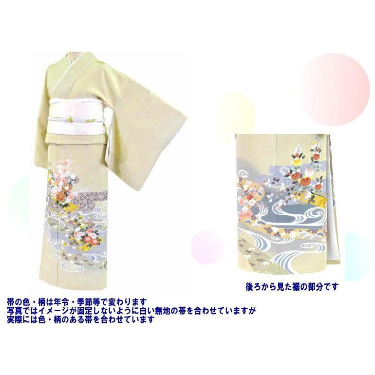 色留袖 レンタル 770番 20点フルセットレンタル 往復送料無料|kimono-world|02