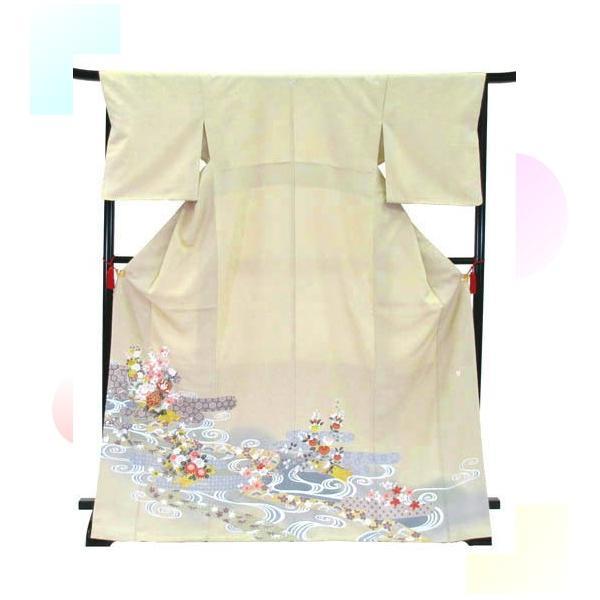 色留袖 レンタル 770番 20点フルセットレンタル 往復送料無料|kimono-world|03