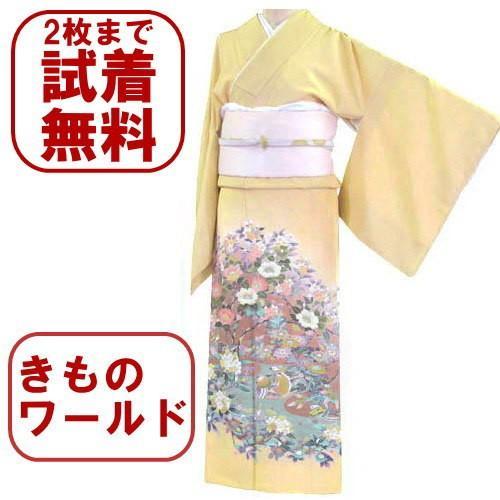 色留袖 レンタル 777番 20点フルセットレンタル 往復送料無料 kimono-world
