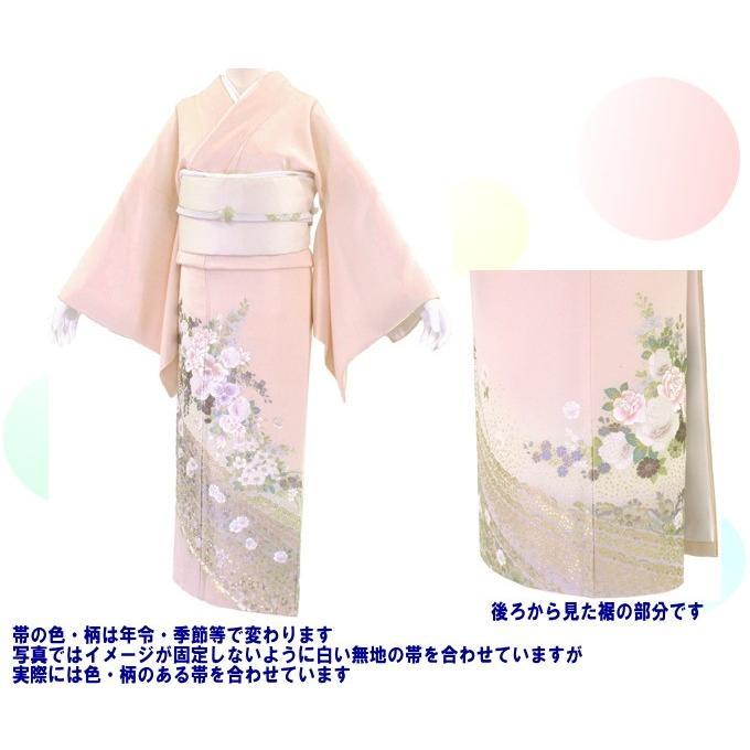 桂由美 色留袖 レンタル 780番 20点フルセットレンタル 往復送料無料|kimono-world|02