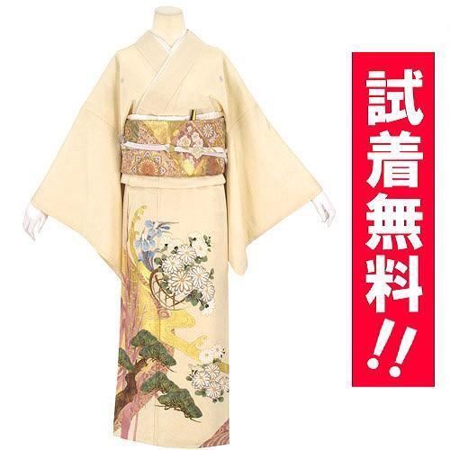 ブランド桂由美/琳派の調べ 色留袖 レンタル 785番 20点フルセットレンタル 往復送料無料|kimono-world