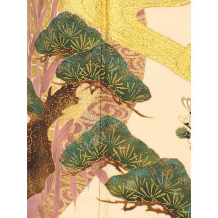 ブランド桂由美/琳派の調べ 色留袖 レンタル 785番 20点フルセットレンタル 往復送料無料|kimono-world|06
