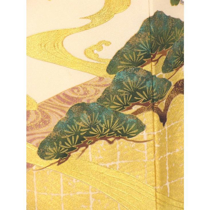 ブランド桂由美/琳派の調べ 色留袖 レンタル 785番 20点フルセットレンタル 往復送料無料|kimono-world|07