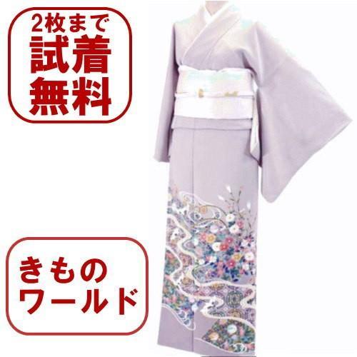 色留袖 レンタル 789番 20点フルセットレンタル 往復送料無料|kimono-world