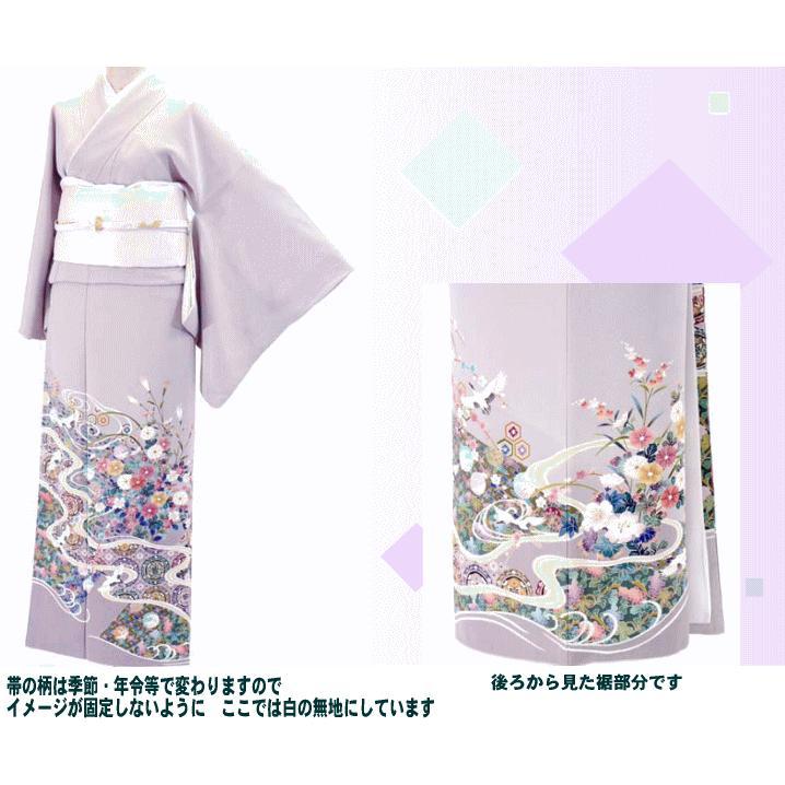 色留袖 レンタル 789番 20点フルセットレンタル 往復送料無料|kimono-world|02