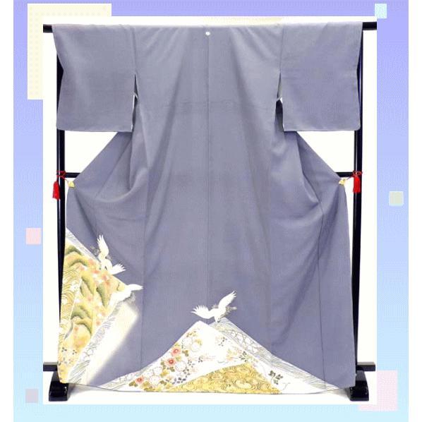 色留袖 レンタル 790番 20点フルセットレンタル 往復送料無料|kimono-world|03